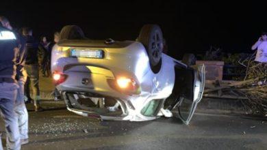 Photo of Paura nella notte, auto si ribalta a Casamicciola