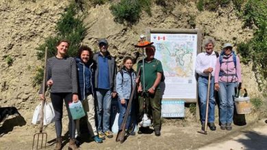 Photo of Workcamp 2019: volontari IBO da Italia, Austria e Olanda per il recupero dei Pizzi Bianchi e il sentiero dell'Allume