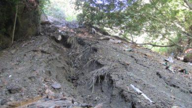 Photo of Un canyon profondo 30 metri usato come discarica