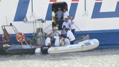 Photo of Lady Carmela arenata nel porto, le foto dei soccorsi
