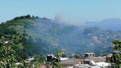 Photo of Fiamme nei boschi di Barano, domate dagli elicotteri
