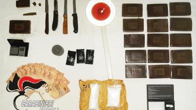 Photo of Tre arrestati a Ischia, nascondevano un chilo e mezzo di hashish