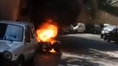 Photo of IL CASO Attentato a Borrelli, in fiamme lo scooter del consigliere regionale