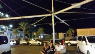 """Photo of Riparo per tassisti e turisti, ecco la """"vela"""" sul porto"""