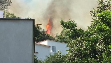 Photo of Fiamme a Piedimonte, sul posto i vigili del fuoco