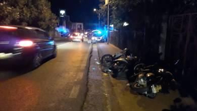 Photo of Paura al Castiglione: nella notte scontro tra motocicli, due feriti