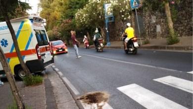 Photo of Incidente al Castiglione, auto contro moto: un ferito
