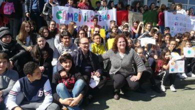 Photo of Global Strike for future, la scuola Media Scotti risponde all'appello di Greta Thumberg