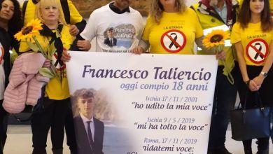 Photo of Giornata delle vittime sulla strada: Leonardo Taliercio in piazza al Campidoglio