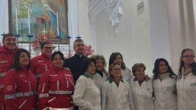 Photo of I volontari della AVO alla messa per San Ciro a Lacco Ameno