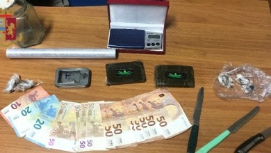 Photo of Beccato in auto con 17 grammi di hashish: arrestato pusher 27enne.