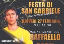 Photo of L'EVENTO Festa di San Gabriele, stasera lo spettacolo di Raffaello Corti