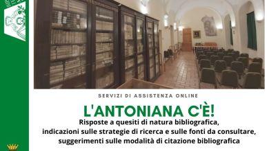 Photo of L'Antoniana c'è: è attivo il servizio di assistenza online