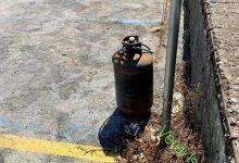 Photo of LA DENUNCIA Una bombola del gas in strada in via Leonardo Mazzella