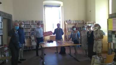 "Photo of LA FOTONOTIZIA Riapre la biblioteca comunale ""Don Michele Ambrosino"""