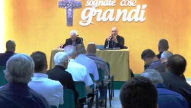 """Photo of Il clero diocesano di Ischia nel primo """"ritiro"""" di aggiornamento con i vescovi Lagnese, Alfano e De Palma"""