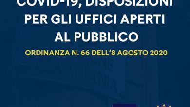 Photo of Uffici aperti al pubblico e Covid, ecco la nuova ordinanza di De Luca