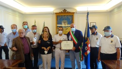 Photo of Andrea Meloni cittadino benemerito del Comune d'Ischia