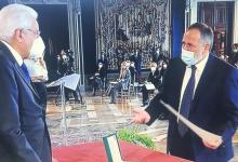 Photo of Gino Iacono nominato Cavaliere da Mattarella