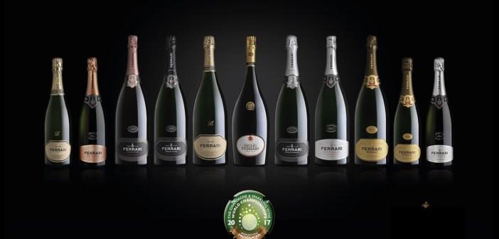 """Ferrari conquista il titolo di """"Sparkling Wine Producer of the Year"""" al The Champagne & Sparkling Wine World Championships 2017"""