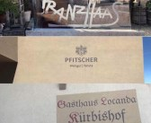 Franz Haas, Weingut – Tenuta Pfitscher, Gasthaus – Locanda Kürbishof, dal mattino al primo pomeriggio e poi sarà un altro racconto