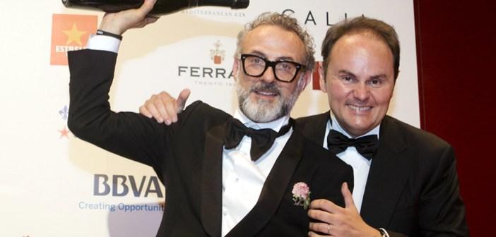 Massimo Bottura con la sua Osteria Francescana torna numero uno al mondo e si brinda con Ferrari spumanti