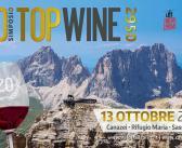 SIMPOSIO TOP WINE 2950 – 20^ edizione  #pordoiwine  13 ottobre 2018 – RIFUGIO MARIA – SASS PORDOI, sarà bello esserci