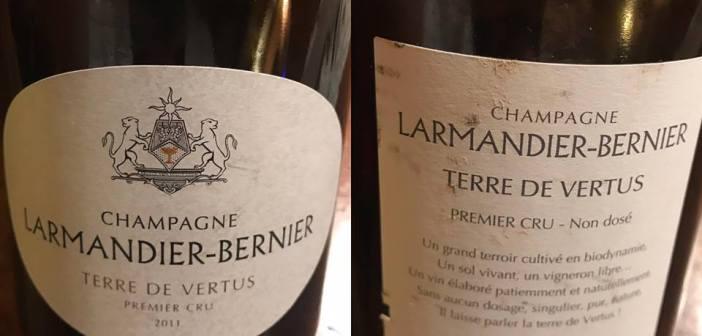 Champagne Larmandier-Bernier – Terre De Vertus Premier Cru 2011