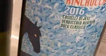 Rincrocca 2016, il Verdicchio Riserva di Riccardo Baldi, il Verdicchio Riserva della Staffa