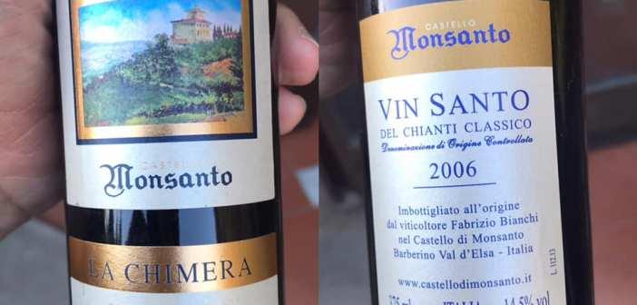 Castello di Monsanto – A Chimera Vin Santo del Chianti Classico DOC 2006