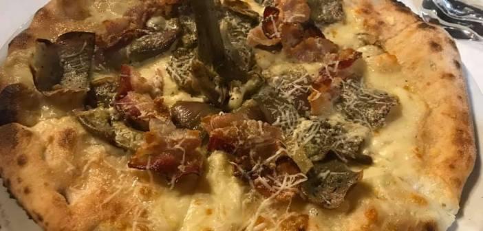 """Casale Rufini a Palestrina (Rm) di Marco Rufini un locale che vale la pena andare a provare, oggi ecco la pizza """"carciofara"""""""