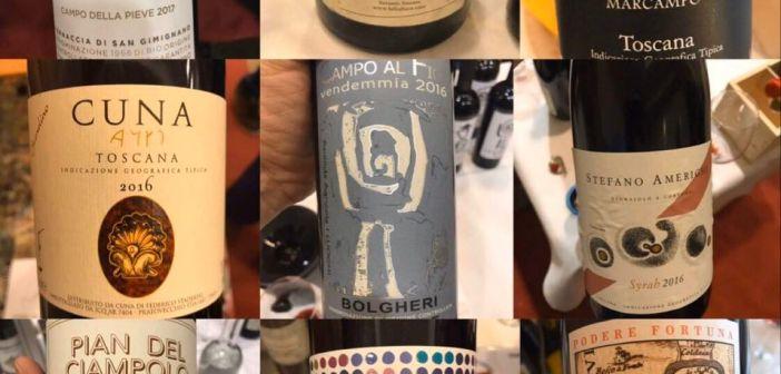 Terre di Toscana 2020, ecco la mia ultima degustazione, conclusa degustando tanti vini ottimi, da questi ne ho scelti 9
