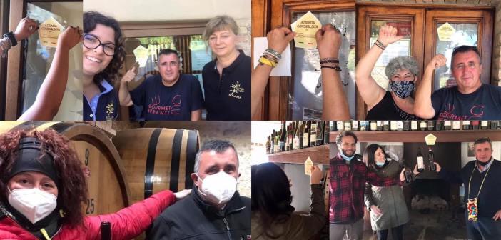 Solaria – Corte dei Venti – Fattoria del Pino – Terre Nere, altre 4 aziende a Montalcino a cui ho dato il mio adesivo per azienda consigliata da il Gourmet Errante