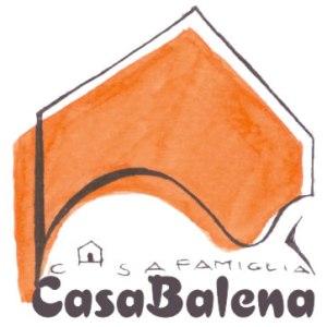 """logo casa famiglia """"CasaBalena"""""""