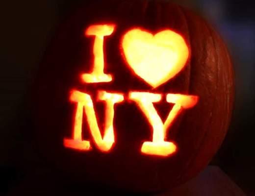 halloween a new york, pumpkin new york