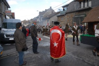 Faymonville Türk bayraklı
