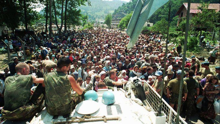 Afbeeldingsresultaat voor 13 juli 1995 srebrenica