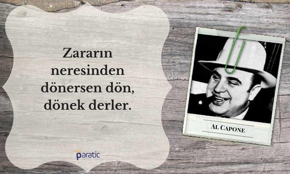 Al Capone Sözleri Dönek
