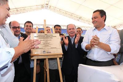 Ilhéus; Governador autoriza construção de hospital e inaugura gasoduto