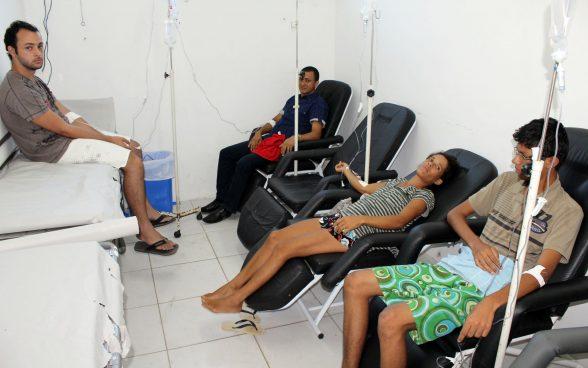Atendimento no PA da Dengue