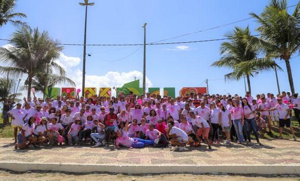 Ilhéus se vestiu de rosa neste sábado para marcar luta pelo combate ao câncer de mama 5