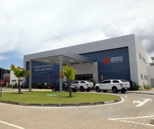 ILHÉUS: Hospital Regional Costa do Cacau retoma os seus atendimentos normais 2