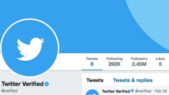 """Twitter quer todos os utilizadores com """"check"""" azul 5"""