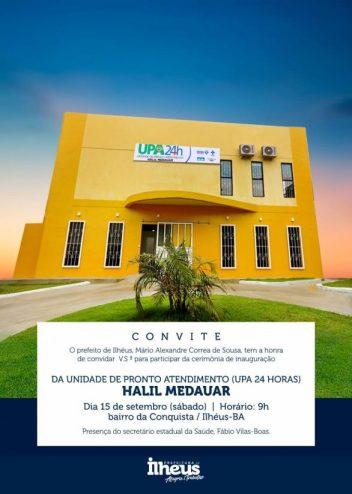 Ilhéus inaugura UPA 24 Horas da Conquista e reforça atendimento na saúde 2