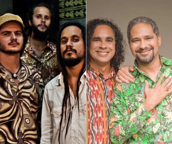 Maneva se apresenta no primeiro dia do Itacaré Surf Music 7