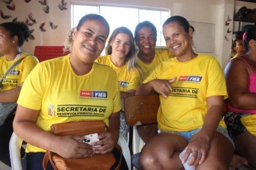 ILHÉUS: Moradores do Condomínio Sol e Mar são beneficiados com cursos de capacitação profissional 1