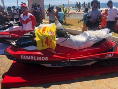 Ilhéus recebe quadriciclo e jet ski do Governo do Estado para reforçar segurança nas praias 8