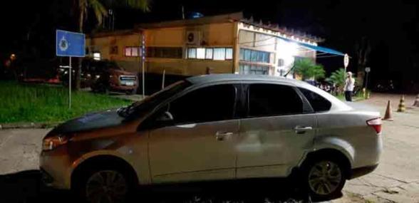 Carro de motorista de aplicativo (UBER) roubado em Salvador é recuperado em Itabuna 5