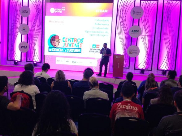 Experiências dos Centros Juvenis são apresentadas na Campus Party Brasil 2019 5