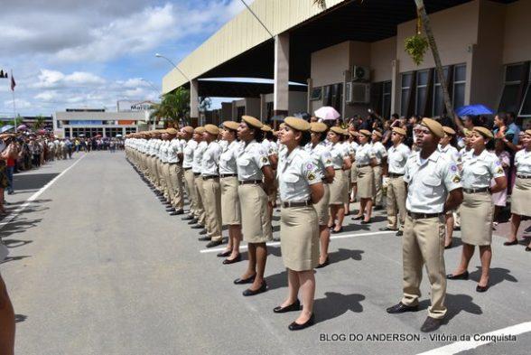 Polícia Militar da Bahia formou hoje (18) 2.117 novos soldados 8